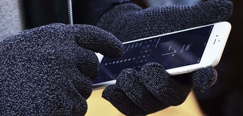 Touchscreen handschoenen voor Telefoon of Tablet