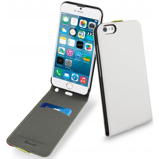 Muvit Slim Flipcase voor de iPhone 6(s) Plus - Wit