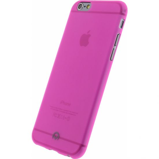Mobilize Gelly TPU Backcover voor de iPhone 6(s) - Neon Fuchsia