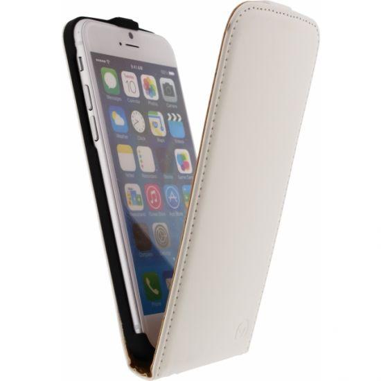 Mobilize Ultra Slim Flipcase voor de iPhone 6(s) - Wit
