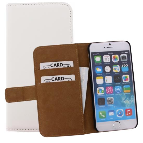 Mobilize Slim Wallet Bookcase voor de iPhone 6(s) - Wit