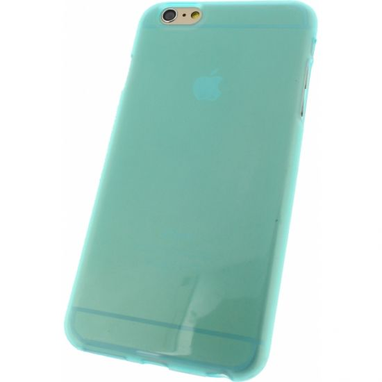 Mobilize Gelly TPU Backcover voor de iPhone 6(s) Plus - Turquoise
