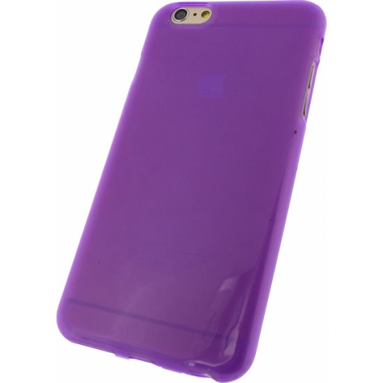 Mobilize Gelly TPU Backcover voor de iPhone 6(s) Plus - Paars