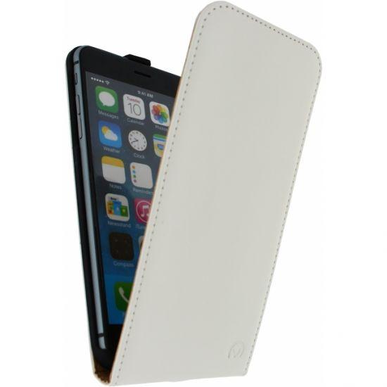 Mobilize Ultra Slim  Flipcase voor de iPhone 6(s) Plus - Wit