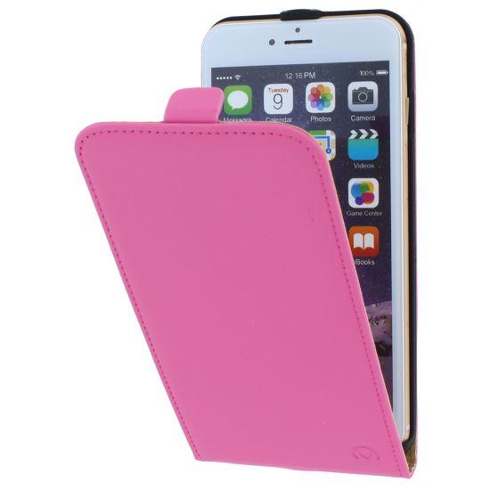 Mobilize Ultra Slim Flipcase voor de iPhone 6(s) Plus - Roze