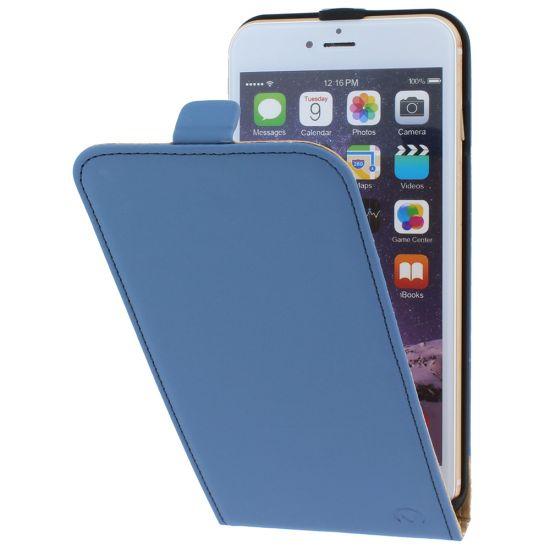Mobilize Ultra Slim Flipcase voor de iPhone 6(s) Plus - Blauw