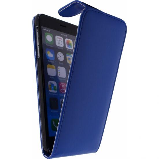 Xccess Flipcase voor de iPhone 6(s) Plus - Donkerblauw