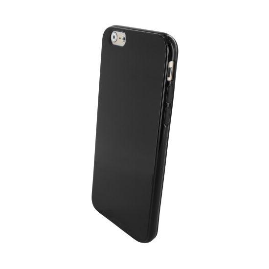Mobiparts Essential TPU Backcover voor de iPhone 6(s) - Zwart