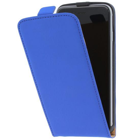 Mobiparts Premium Flipcase voor de iPhone 6(s) - Blauw