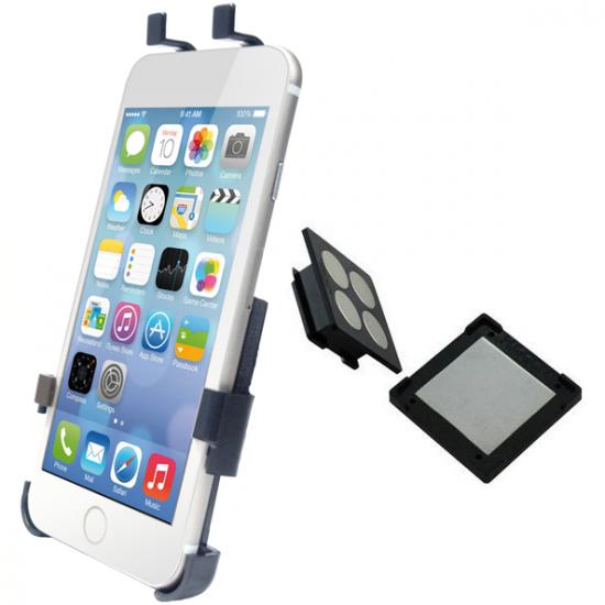 Haicom Magneet Dashboard Telefoonhouder Auto voor de Apple iPhone 6(s) Plus - Zwart