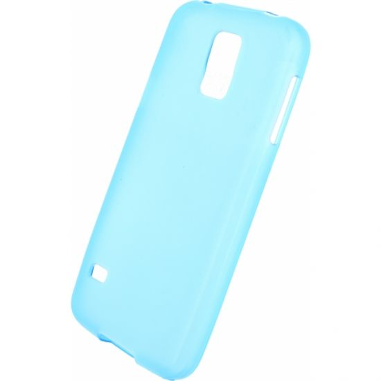 Mobilize Gelly TPU Backcover voor de Samsung Galaxy S5 - Turquoise