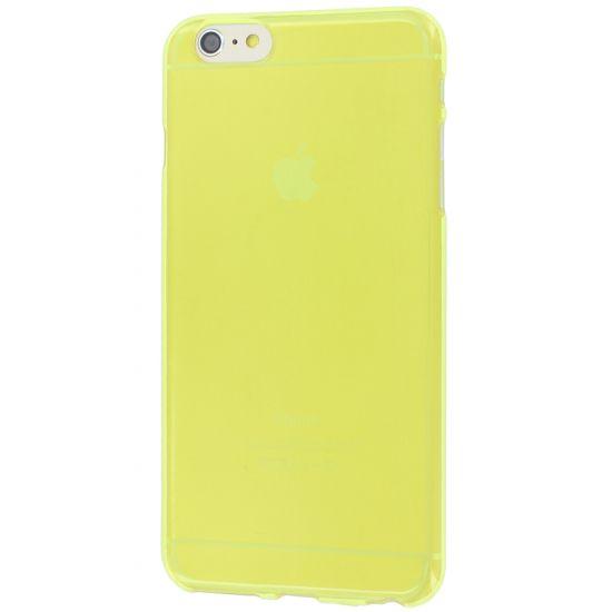 Colorfone TPU Backcover voor de iPhone 6(s) Plus - Geel