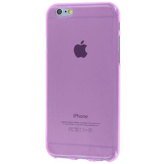 Mobigear Color TPU Backcover voor de iPhone 6(s) - Roze