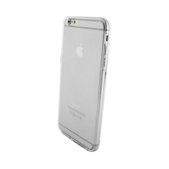 Mobiparts Essential TPU Backcover voor de iPhone 6(s) Plus - Transparant