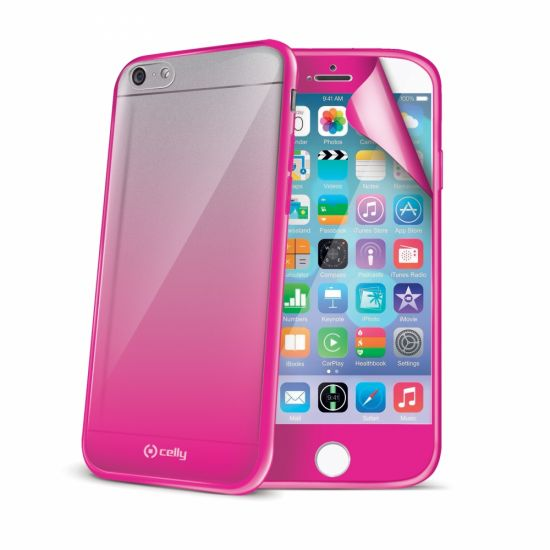 Celly Sunglasses Hardcase voor de iPhone 6(s) - Roze