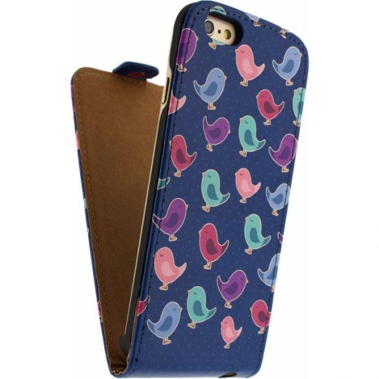 Mobilize Ultra Slim Flipcase voor de iPhone 6(s) - Birdy