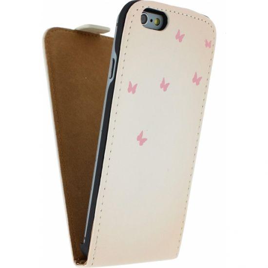 Mobilize Ultra Slim Flipcase voor de iPhone 6(s) - Hert