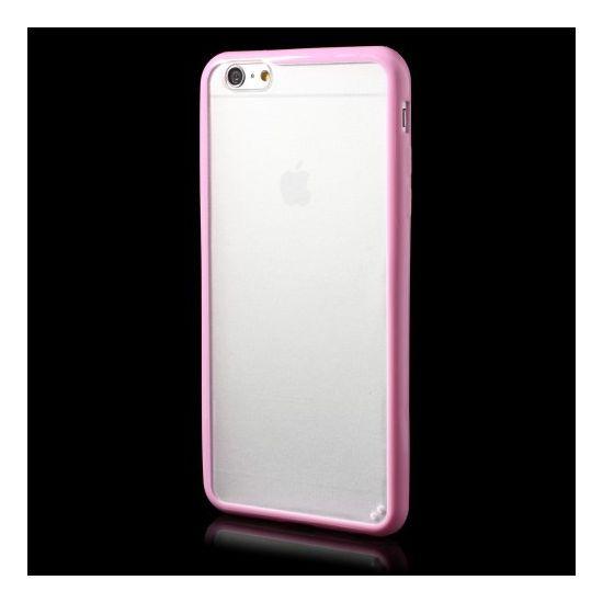 Mobigear Acrylic Hardcase voor de iPhone 6(s) Plus - Roze