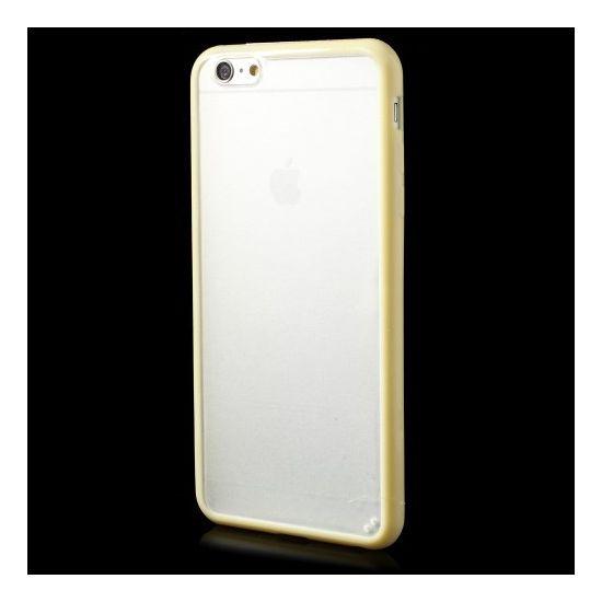 Mobigear Acrylic Hardcase voor de iPhone 6(s) Plus - Geel