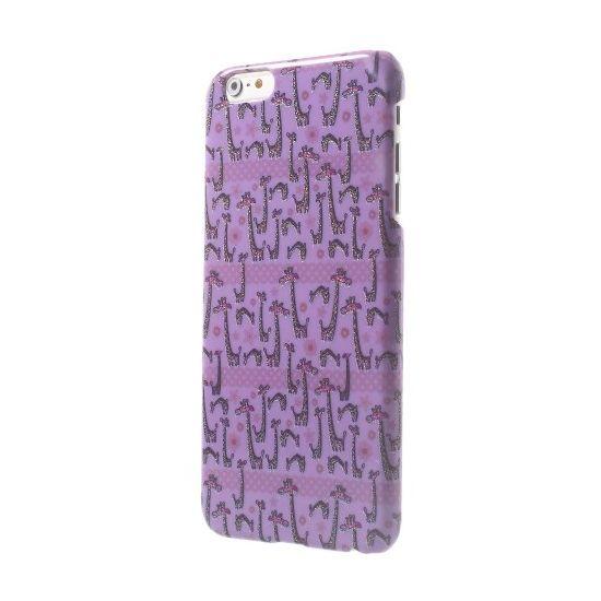 Mobigear Design Hardcase voor de iPhone 6(s) Plus - Giraffe