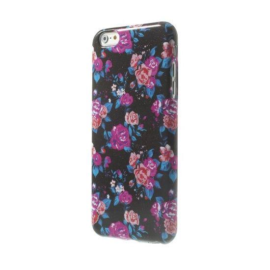 Mobigear Design TPU Backcover voor de iPhone 6(s) Plus - Rozen