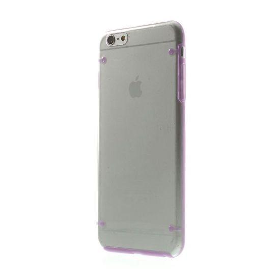 Mobigear Acrylic Hardcase voor de iPhone 6(s) Plus - Transparant / Paars