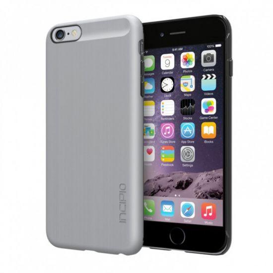 Incipio Feather Shine Hardcase voor de iPhone 6(s) Plus - Zilver