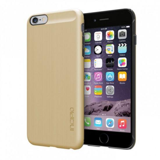 Incipio Feather Shine Hardcase voor de iPhone 6(s) Plus - Goud