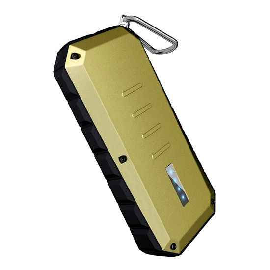 iWalk Spartan Dual USB Powerbank 13.000 mAh - Goud