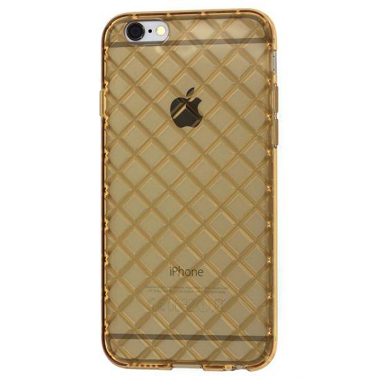 Mobigear Diamond TPU Backcover voor de iPhone 6(s) - Goud