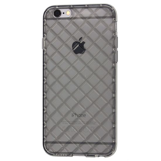 Mobigear Diamond TPU Backcover voor de iPhone 6(s) - Grijs