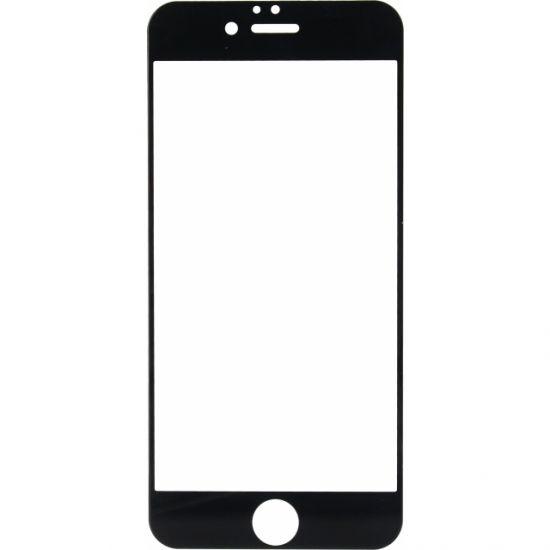 Mobilize Full Coverage Gehard Glas Screenprotector voor de iPhone 6(s) - Zwart