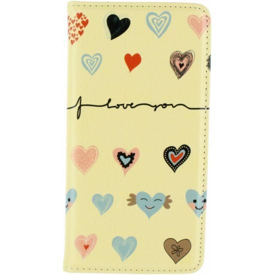 Mobilize Magnet Bookcase voor de iPhone 6(s) Plus - I Love You