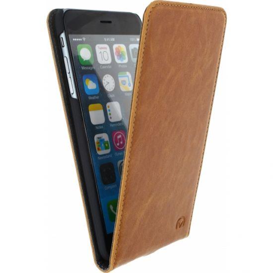 Mobilize Premium Magnet Flipcase voor de iPhone 6(s) Plus - Bruin