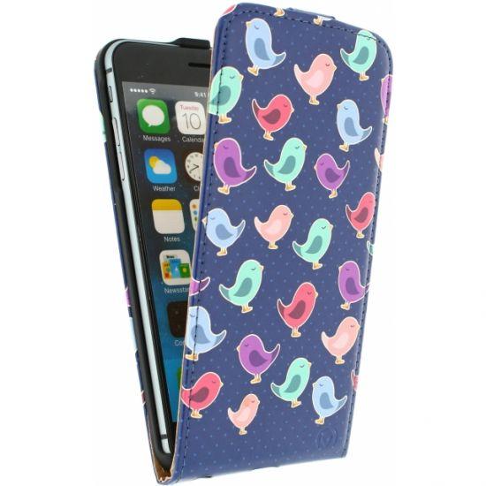Mobilize Ultra Slim Flipcase voor de iPhone 6(s) Plus - Birdy