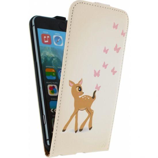 Mobilize Ultra Slim Flipcase voor de iPhone 6(s) Plus - Hert