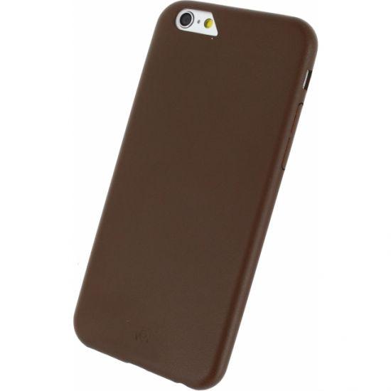 Mobilize Premium  Backcover voor de iPhone 6(s) - Bruin