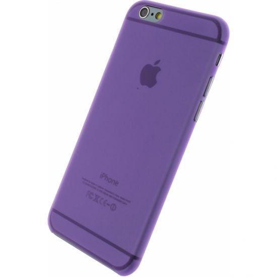 Xccess Thin Frosty Hardcase voor de iPhone 6(s) - Paars