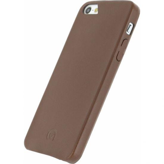 Mobilize Premium Backcover voor de iPhone SE (2016) / 5S / 5 - Bruin