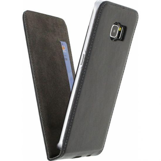 Mobilize Premium Magnet Flipcase voor de Samsung Galaxy S6 Edge - Zwart
