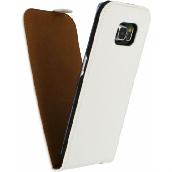 Mobilize Ultra Slim Flipcase voor de Samsung Galaxy S6 Edge - Wit