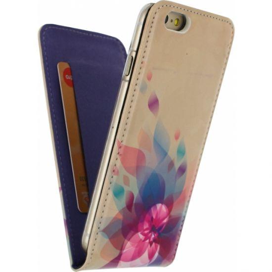 Mobilize Magnet Flipcase voor de iPhone 6(s) - Fire Flower