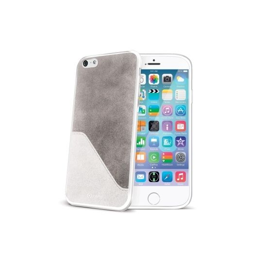 Celly Mix Backcover voor de iPhone 6(s) - Wit