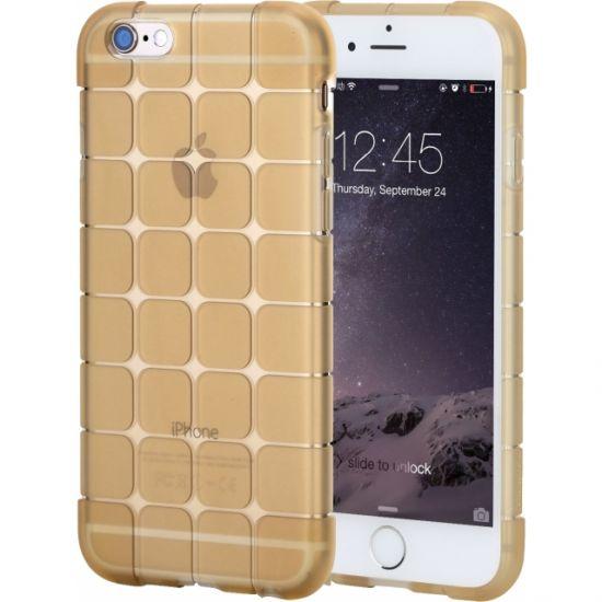 Rock Cubee TPU Backcover voor de iPhone 6(s) - Goud
