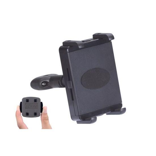 HR Richter Headrest Tablet Holder Universeel 105- 205mm - Zwart