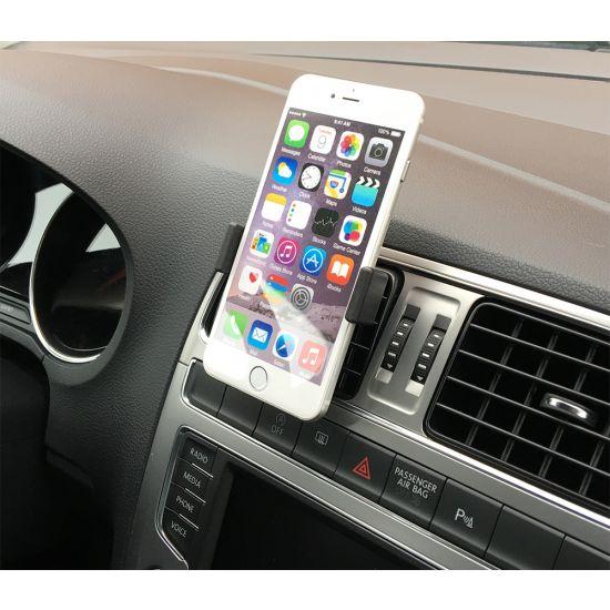 Mobigear Ventilatierooster Telefoonhouder Auto Universeel - Zwart