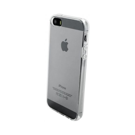 Mobiparts Essential TPU Backcover voor de iPhone SE (2016) / 5S / 5 - Transparant