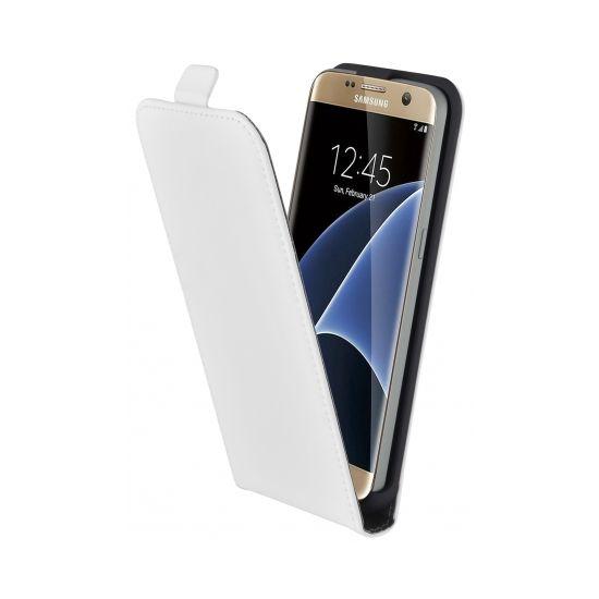 Mobiparts Premium Flipcase voor de Samsung Galaxy S7 - Wit