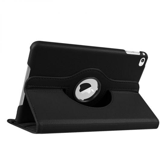 Mobigear 360 Rotating Bookcase voor de iPad Mini 4 (2015) - Zwart