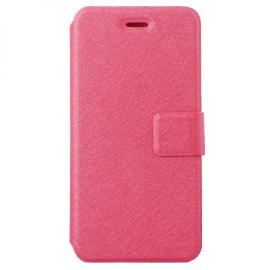 Mobigear Silk Bookcase voor de iPhone 6(s) - Magenta